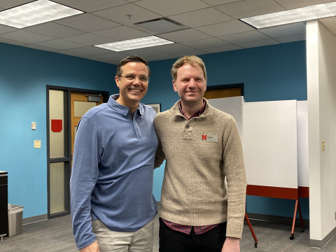 Zach Eden Magic Moments with former Husker basketball coach Tim Miles