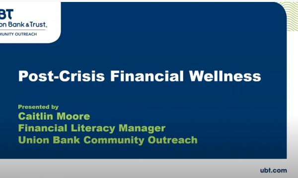 Post-crisis financial wellness