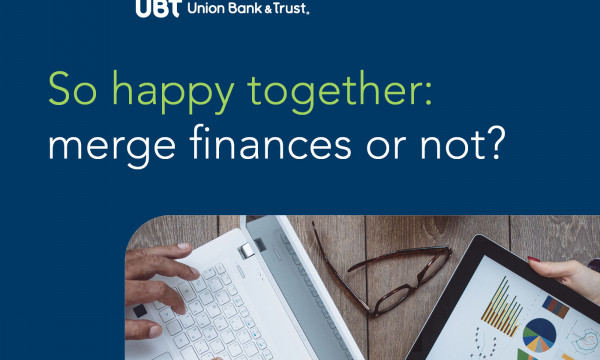 MoneyBetter So Happy together; merge finances or not?